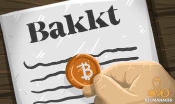 Bakkt paper white Bitcoin