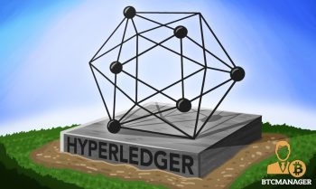 Hyperledger Statue Symbol Green Blue