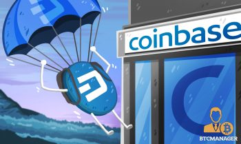 Dash Crypto Parachuting down into Coinbase Pro
