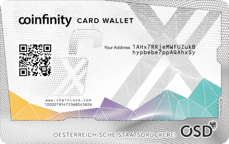 Review: Coinfinity's Card Wallet Will Securely Store Your Crypto Offline