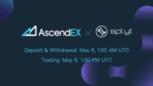 SplytCore Listing on AscendEX